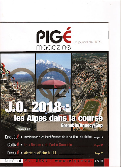 Pigé magazine, article