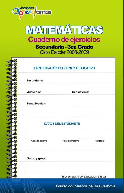 Cuaderno de ejercicio de español y matemáticas | Diario Educación