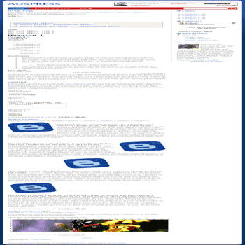 free blogger template converted WordPress Theme to Blogger Adpress for template blog