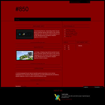 #850 blogger template with 3 column blogger template. blogspot template 3 column. template blog 3 column