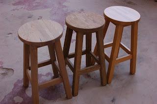 stoelen zandstralen