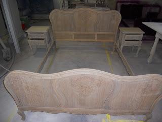 renovatie van een bed