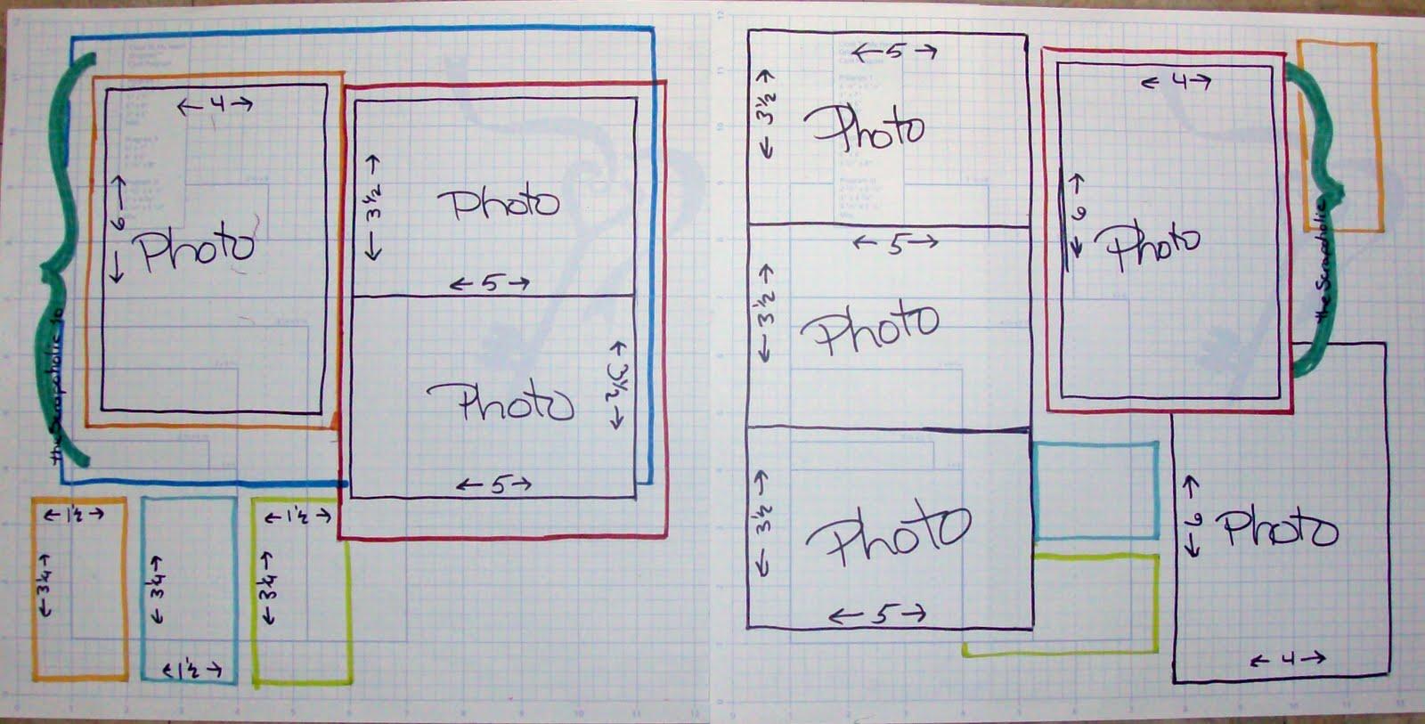 How to scrapbook 8x8 layouts - Scrapbooking