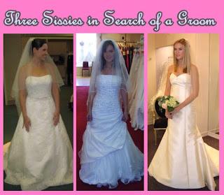 men in silk maid dresses