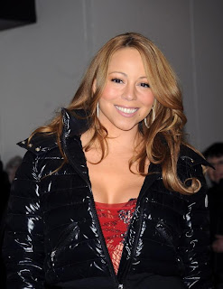 mariah carey takes her clothes off on trl