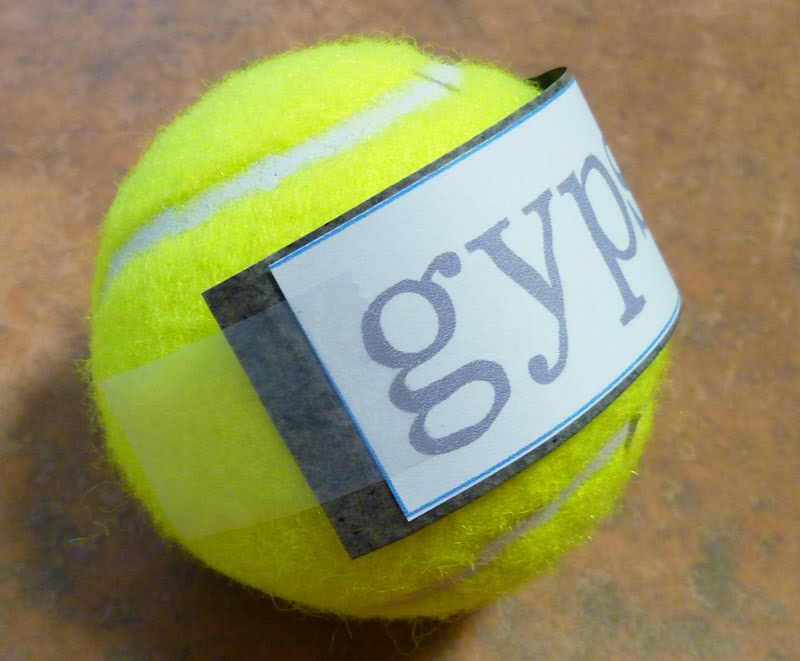 Custom Dog Gift Personalized Tennis Ball Cathe Holden\u0027s Inspired Barn - why is there fuzz on a tennis ball