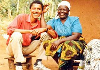 *info foto-Sarah Obama, 86 tahun bersama Barack Obama suatu ketika dahulu