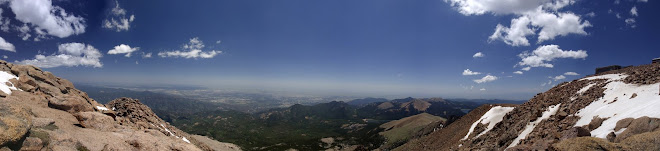 Panoramic View from the Peak