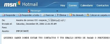 Robo y secuestro de cuentas Hotmail