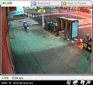 Webcam en directo desde Times Square, New York