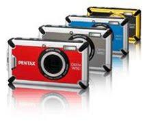 2ce97cc3f O logotipo da marca PENTAX passou por algumas modificações no decorrer dos  anos, mantendo sempre a predominante cor vermelha.