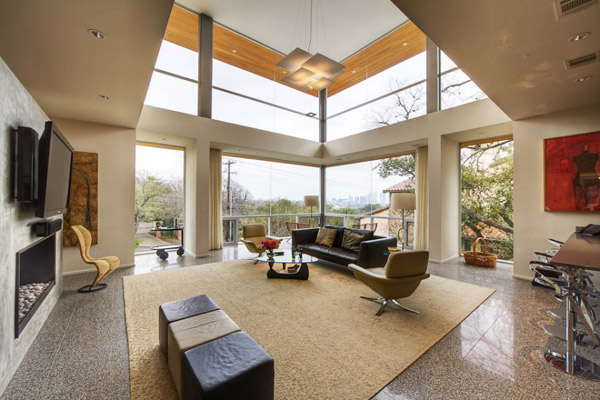 Places of Decor: Cabin Design - Passive Solar House in Texas