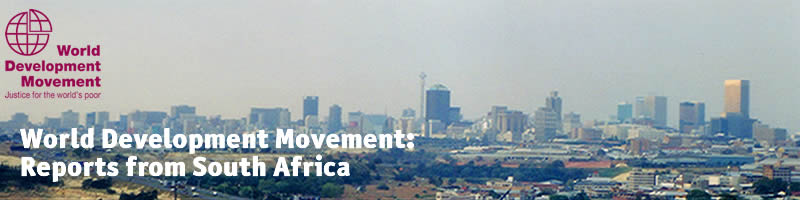 World Development Movement in South Africa