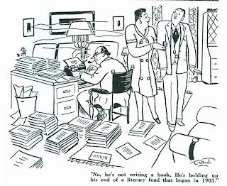 Listphoria: Great Literary Feuds