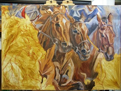 thoroughbred art