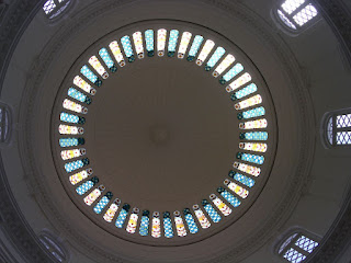 Stain Glass of the Rotunda Dome