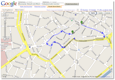 Kompass Google Maps