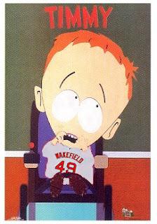 Southpark fans: timmy!, timmy!, timmy!