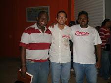 Ademilton, Cristiano e Marcão do Ministério Casa de Davi