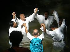 1º Batismo - Retiro do Amor - Foi uma grande Festa