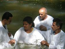 1º Batismo desta Congregação - Retiro do Amor