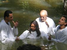1º Batismo - Retiro do Amor - Que alegria, que felicidade.