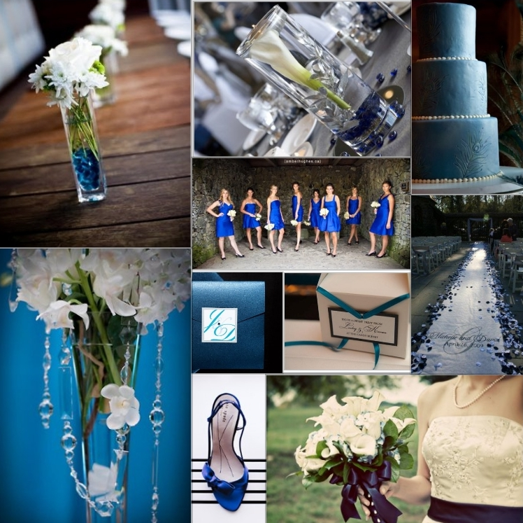 Royal Blue And Black Wedding Ideas: Adrena's Blog: But With A Wedding Dress To Fit Into In