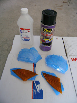 diy and reviews by smeister13 diy painting the honda fit headlights. Black Bedroom Furniture Sets. Home Design Ideas
