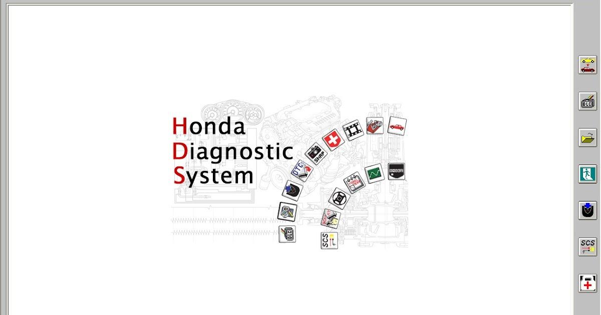 GLOBAL EPC AUTOMOTIVE SOFTWARE: HDS HONDA ACURA DIAGNOSTIC