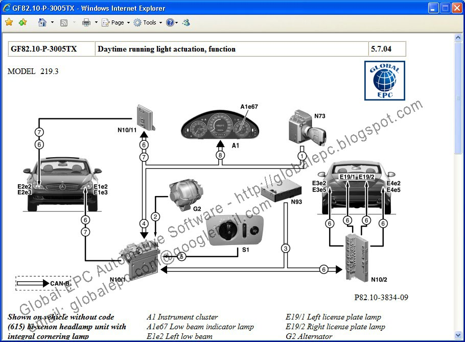 global epc automotive software mercedes benz starfinder web etm  global epc automotive software