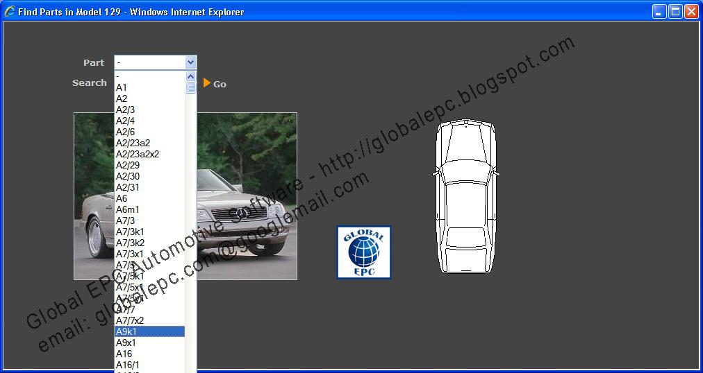 Automotive Wiring Diagrams Software Open Source Diagram Global Epc Software: Mercedes Benz Starfinder Web Etm