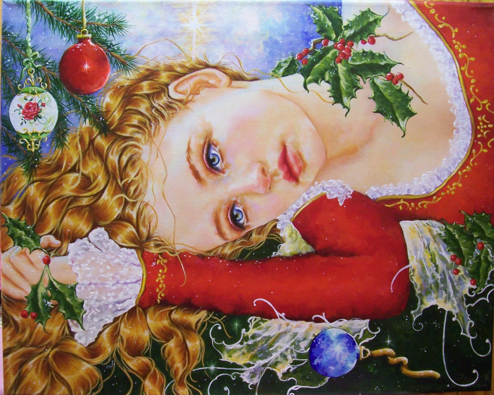 Image result for christmas in the heart painting