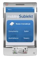 Główny ekran mobilnego Subiekta