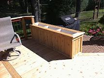 Outdoor Living Couple Of Cedar Decks
