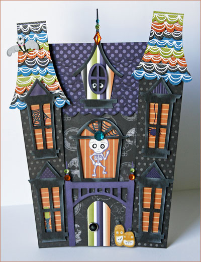 Halloween forever 10 25 10 for Make your own house 3d