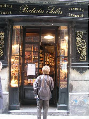 Traditional shop Barcelona