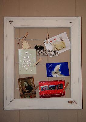 betty crocker wannabe recipe and mom blog pottery barn inspired empty frame art card display. Black Bedroom Furniture Sets. Home Design Ideas