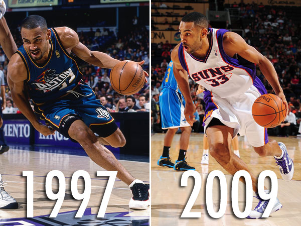 Not physically obviously  but he sure as hell doesn t play like he s    Grant Hill Pistons