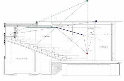 Lecture theatre design - Bath University - Part II