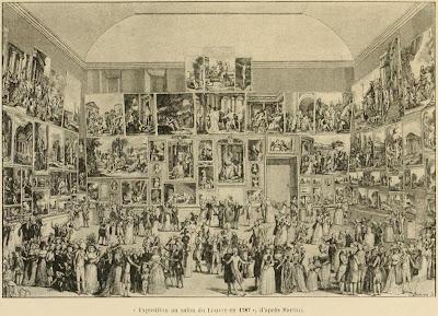 paris 2e salon du louvre 1787. Black Bedroom Furniture Sets. Home Design Ideas