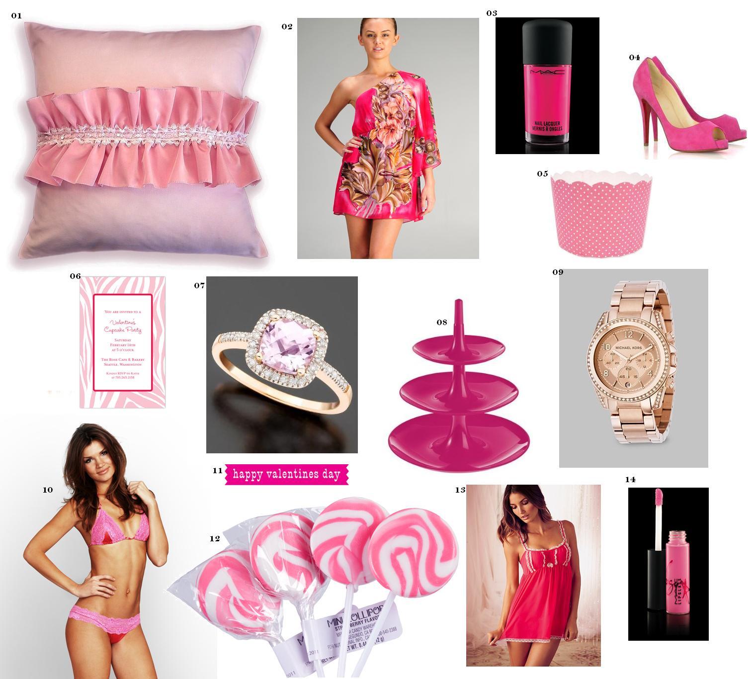 Yarah Designs Hues Valentine Tickled Pink