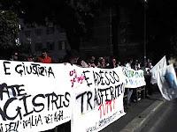 Roma, 8 ottobre 2007: manifestazione del Comitato pro De Magistris - fotografia di Francesco Saverio Alessio