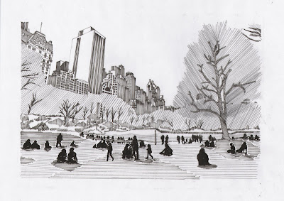 21st century settlement central park drawing