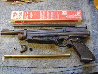Another Airgun Blog: I Do Next to Nothing to a Crosman SSP 250