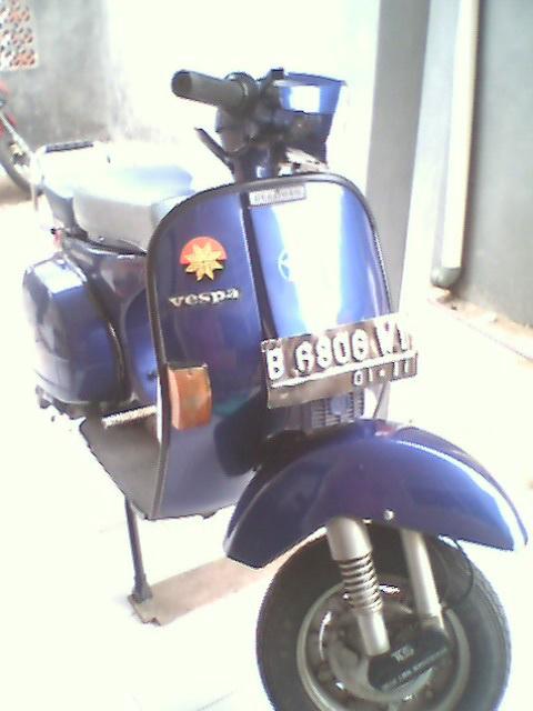 MOTOR-MOTORmu: Harga motor bekas VESPA = 080710