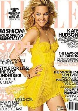 Kate Hudson on Elle February 2009