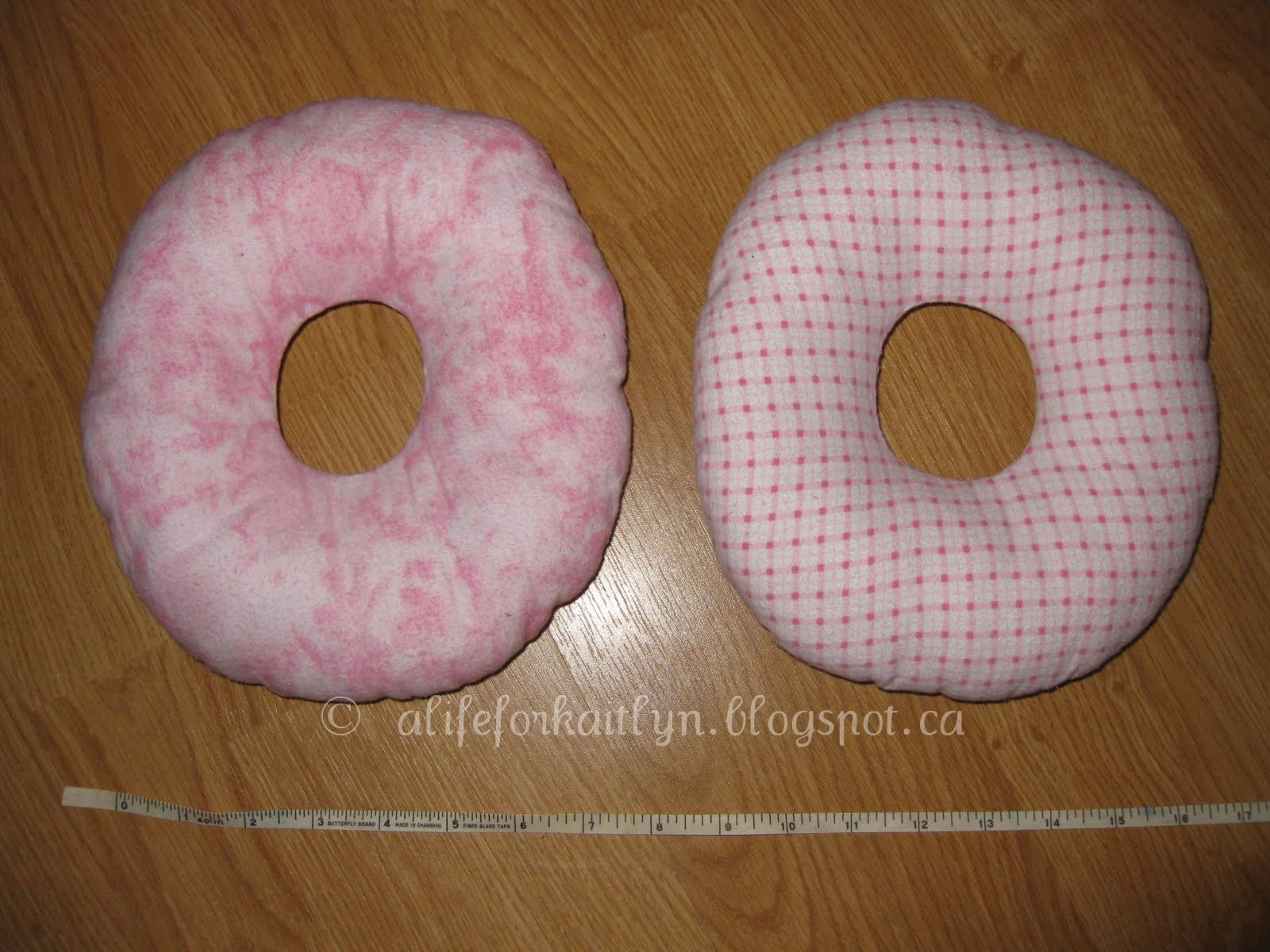 Kaitlyn Hatchard (Spinal Muscular Atrophy-Type 1): Ear Pillows