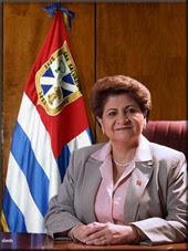 PRIMERA ALCALDESA EN LA HISTORIA DE LA CIUDAD DE SAN SALVADOR
