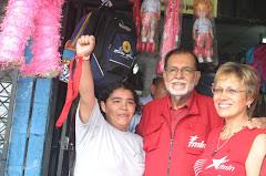 Schafik la estrella de El Salvador