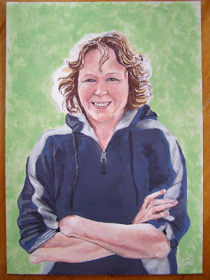 Portrait of the Blogger's Mother by The Goldfish, 2008